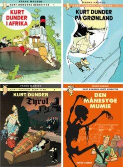 kurt dunder serien af frank madsen tegneserie tegneserier