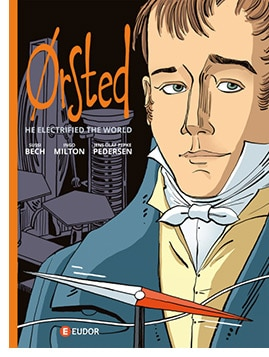 tegneserie tegneserier tegneserien om H.C. Ørsted og elektromagnetismen 200 år Sussi Bech
