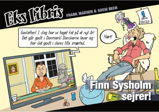 tegneserie tegneserier satire Eks Libris