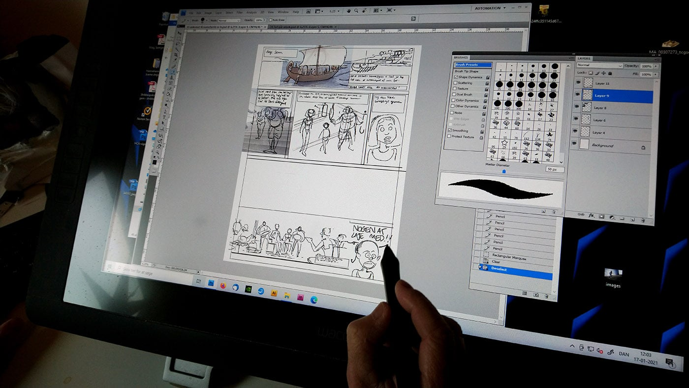 tegneserie tegneserier graphic novel Sussi Bech Nofret