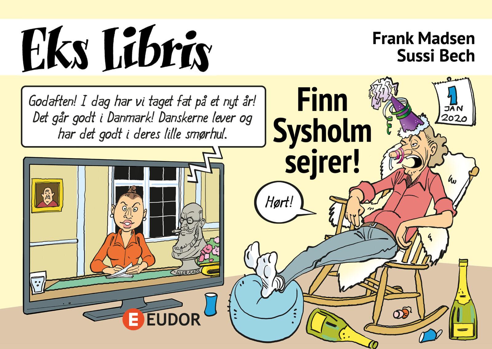 digital tegneserie e-tegneserie med lyd tale og replikker H C Ørsted