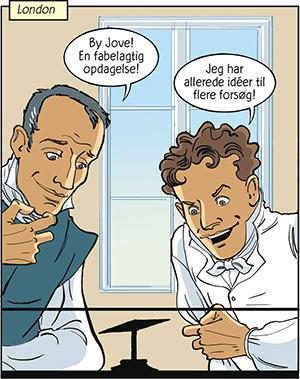 H.C. Ørsted og elektromagnetismen Michael Faraday
