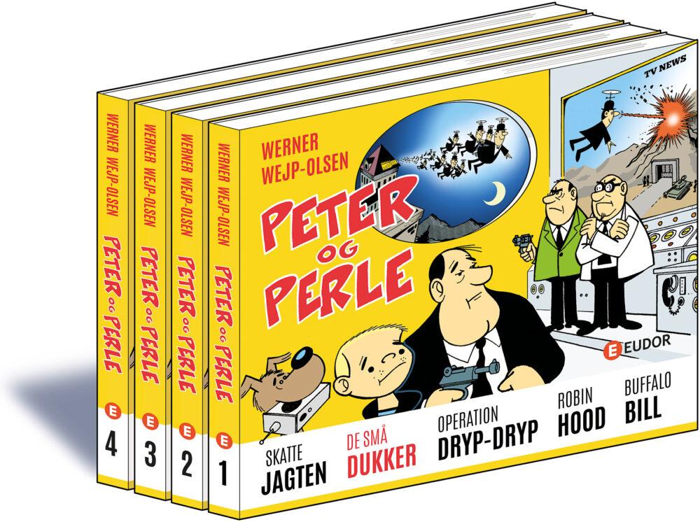 Forlaget Eudor udgiver Werner Wejp-Olsens PETER OG PERLE i samlet udgave.