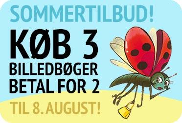 Sommertilbud Køb 3 billedbøger betal for 2