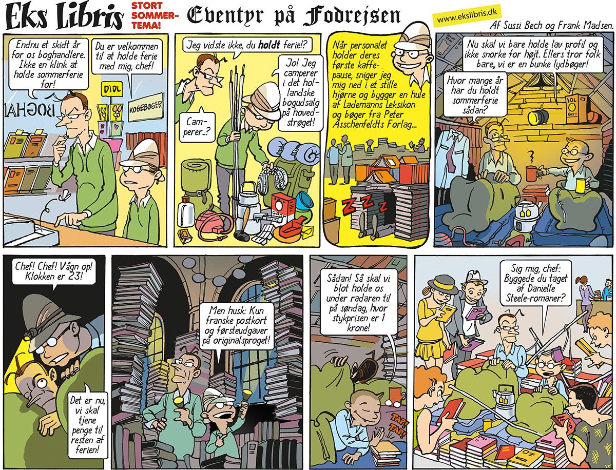 tegneserie eks libris hver uge