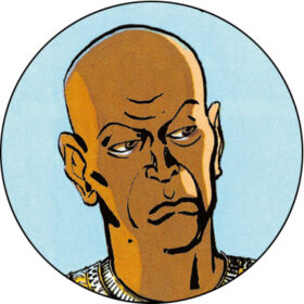 Eje - general over Egyptens vogntropper, Nefertitis far og Akhnatons svigerfar og rådgiver