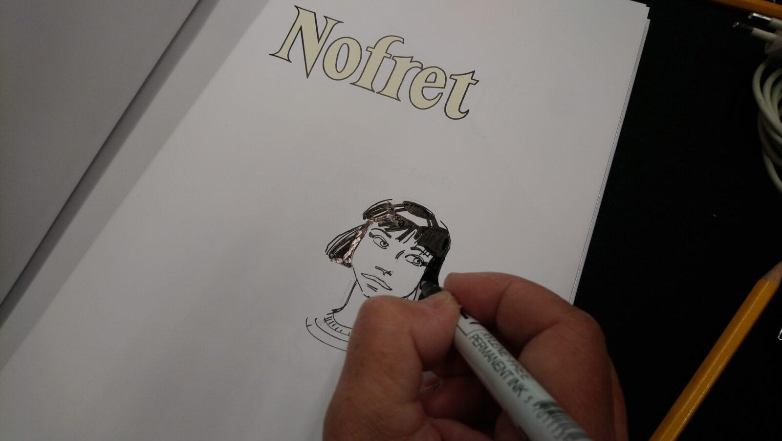 Sussi Bech signerede Nofret hele lørdag.
