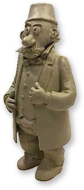 Claus-Deleuran-Prisen-statuette-af-Bente-Bech
